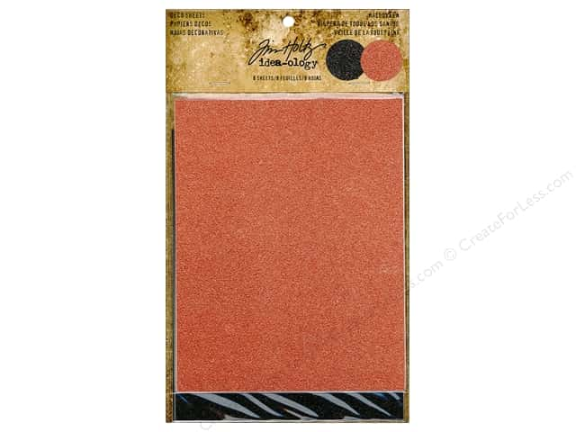 Tim Holtz Idea-ology Deco Sheet Halloween