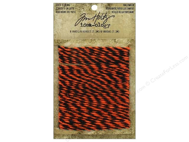 Tim Holtz Idea-ology Jute String Halloween