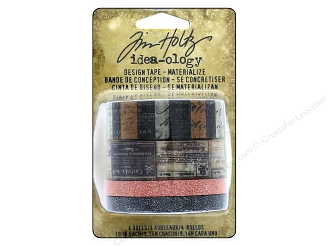 Tim Holtz Idea-ology Design Tape Materialize