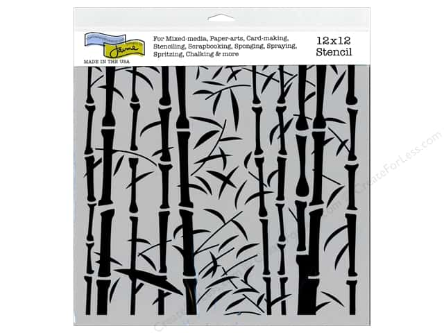 The Crafter's Workshop Template 12 x 12 in. Bamboo