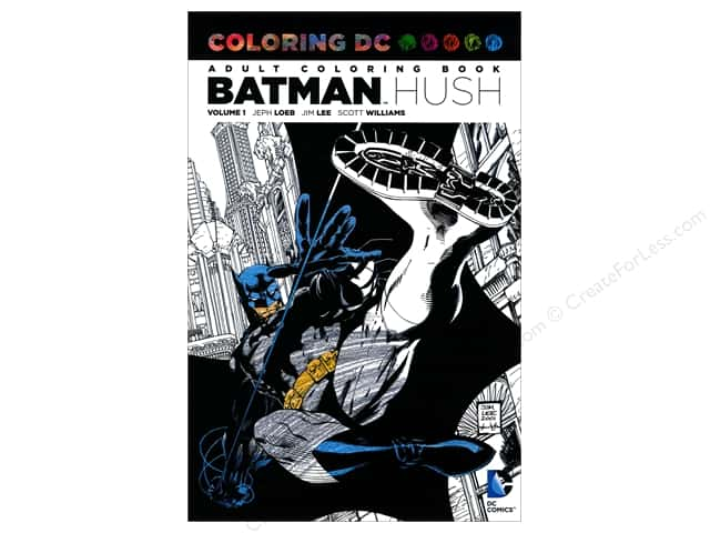 DC Comic Books Batman Hush Coloring Book