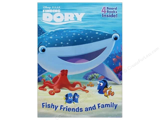 Random House Disney Finding Dory Friendship Box Book