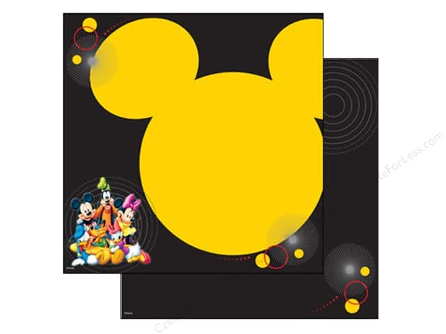 EK 12 x 12 in. Paper Disney Mickey & Friends Character (25 sheets)