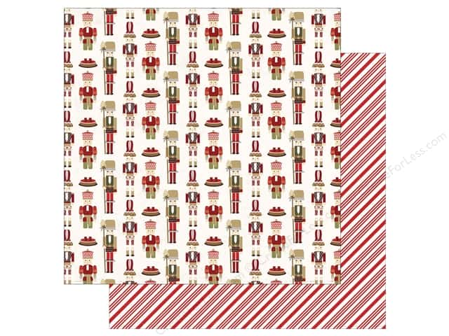 "Photo Play Collection Holiday Cheer Paper 12""x 12"" Nutcracker (25 sheets)"