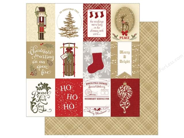 "Photo Play Collection Holiday Cheer Paper 12""x 12"" Ho Ho Ho (25 sheets)"
