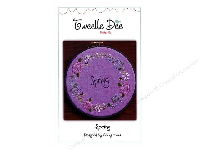 Tweetle Dee Design Co. Spring Pattern