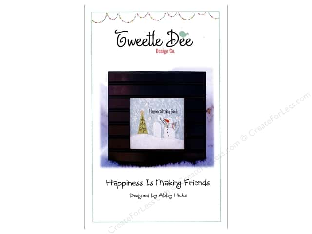 Tweetle Dee Design Co. Happiness Is Making Friends Pattern
