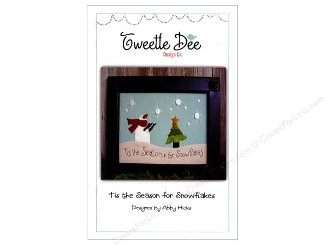 Tweetle Dee Design Co. Tis The Season For Snowflakes Pattern