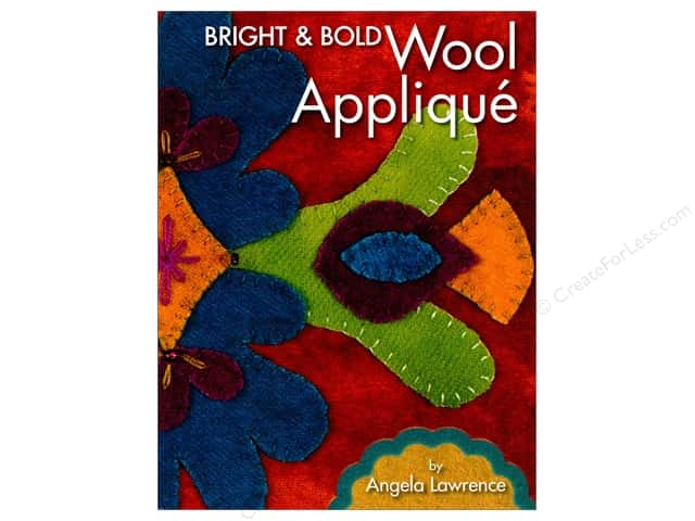 Landauer Bright & Bold Wool Applique Book