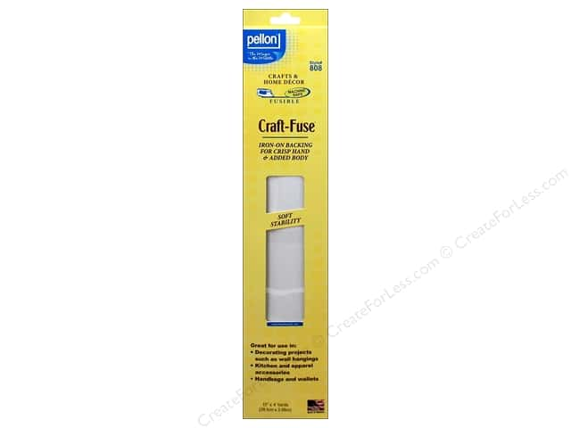 Pellon Craft-Fuse Fusible Stabilizer 15 in. x 4 yd. White