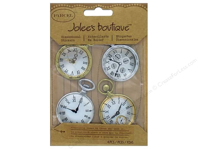 Jolee's Boutique Stickers Parcel Vintage Pocket Watches