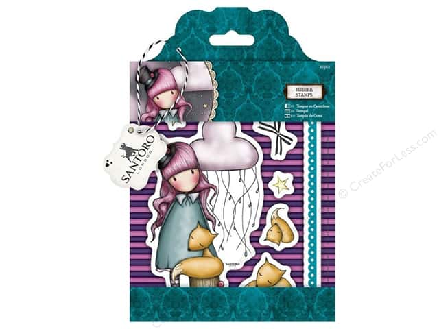 Santoro Gorjuss Collectable Rubber Stamp The Dreamer