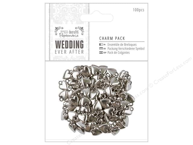 Docrafts Papermania Wedding Charm Pack 100pc