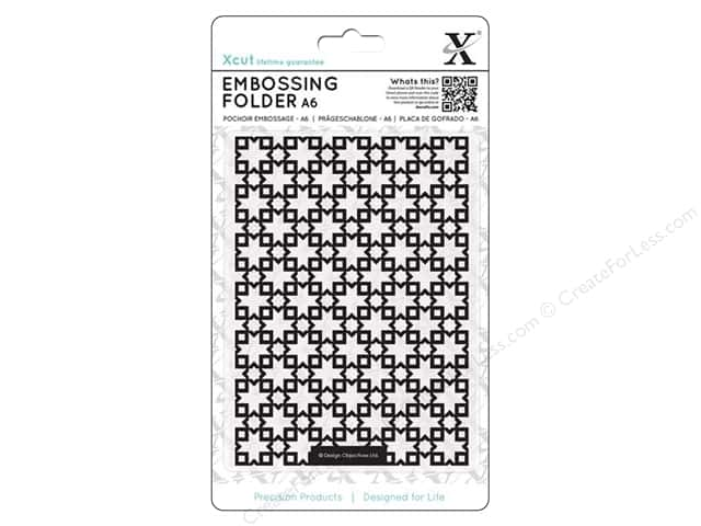 Docrafts Xcut Embossing Folder 4 1/2 x 6 1/2 in. Moroccan Star Tiles