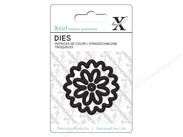 Docrafts Xcut Mini Decorative Dies 3 pc. Flower
