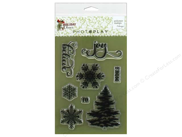 Photo Play Collection Holiday Cheer Stamp Set
