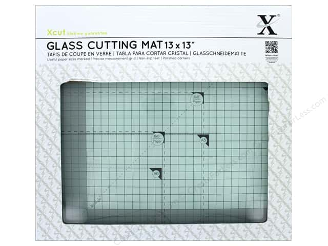 "Docrafts Xcut Glass Cutting Mat 13""x 13"""