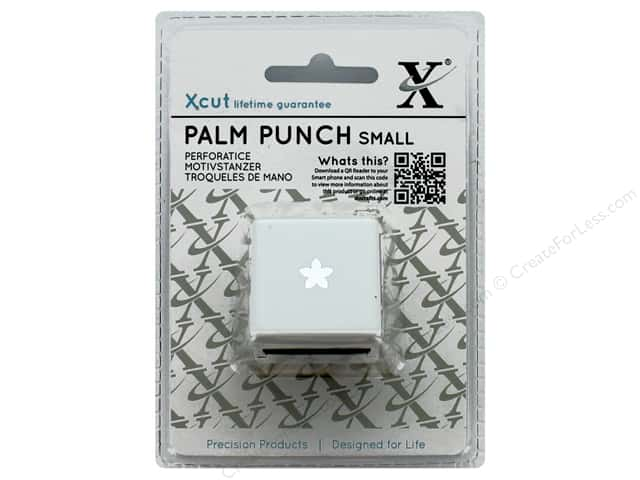 Docrafts Xcut Palm Punch Small Petal