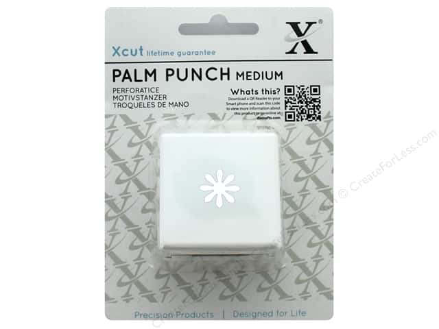 Docrafts Xcut Palm Punch Medium 5/8 in. Daisy