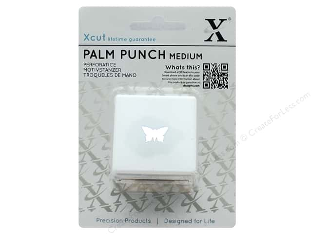 Docrafts Xcut Palm Punch Medium 5/8 in. Pointed Butterfly