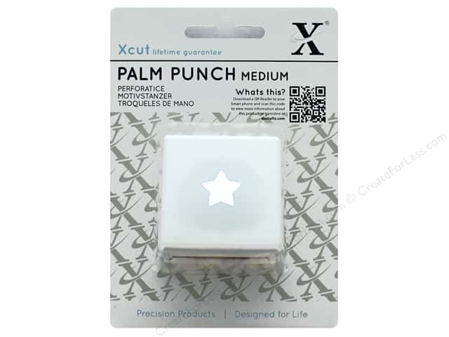 Docrafts Xcut Palm Punch Medium 5/8 in. Traditional Star
