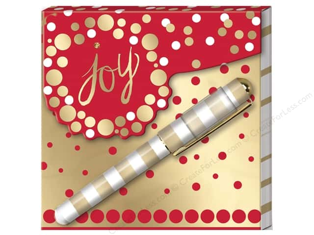 Lady Jayne Note Pad Matchbook With Pen Holiday Cheer