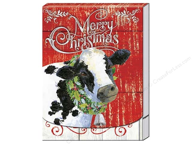 Punch Studio Note Pad Joy To The Farm Pocket (2 pads)