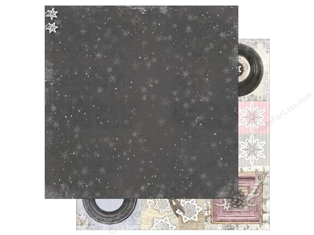 Bo Bunny 12 x 12 in. Paper Winter Wishes Flurries (25 pieces)
