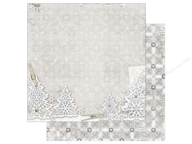 Bo Bunny 12 x 12 in. Paper Winter Wishes Wonderland