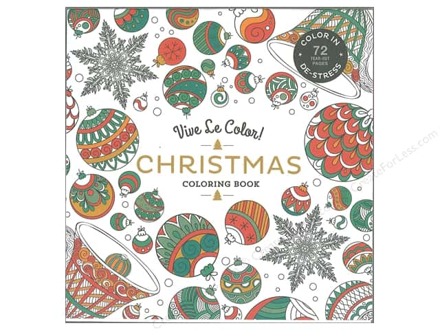 Vive Le Color Christmas Coloring Book