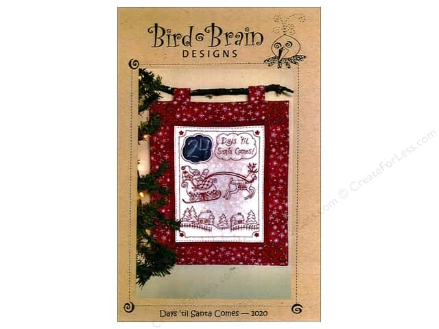 Bird Brain Designs Days Til Santa Comes Pattern