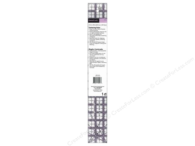 Omnigrid OmniCraft Centering Ruler 2 1/2 x 18 in.