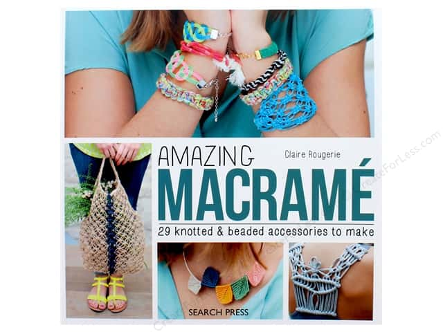 Search Press Amazing Macrame Book
