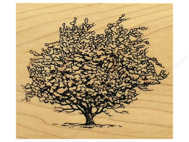 Inkadinkado Wood Stamp Ancient Apple Tree