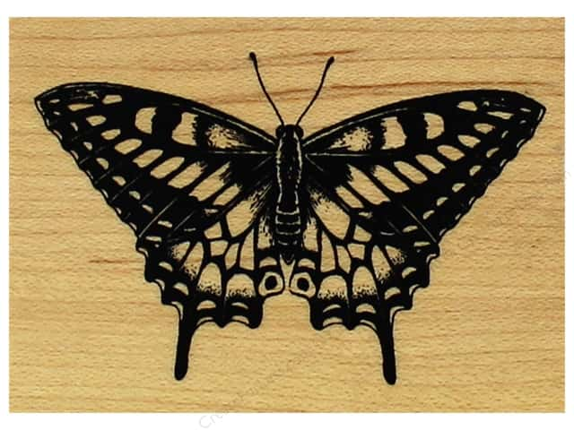 Inkadinkado Wood Stamp Butterfly