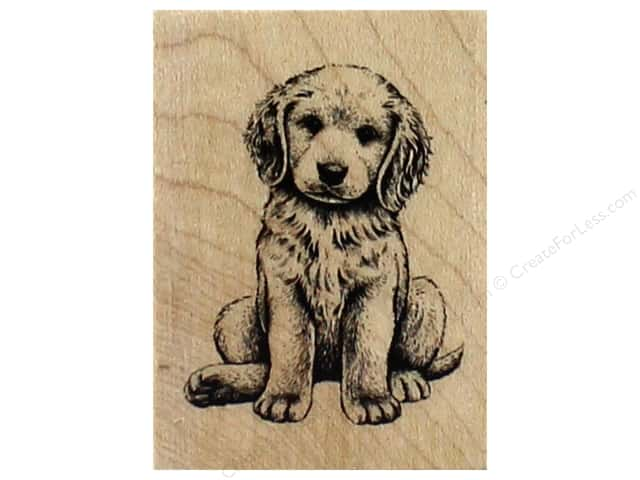 Inkadinkado Wood Stamp Baby Retriever