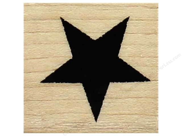 Inkadinkado Wood Stamp Star