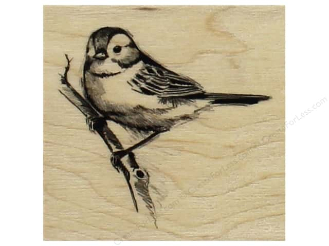 Inkadinkado Wood Stamp Sparrow