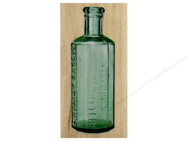 Inkadinkado Wood Stamp Bitters Bottle