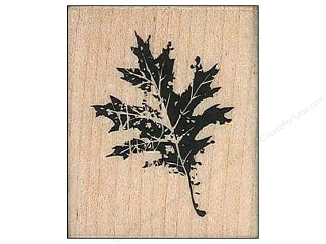 Inkadinkado Wood Stamp Oak Leaf