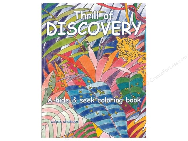 Taunton Press Thrill of Discovery Coloring Book