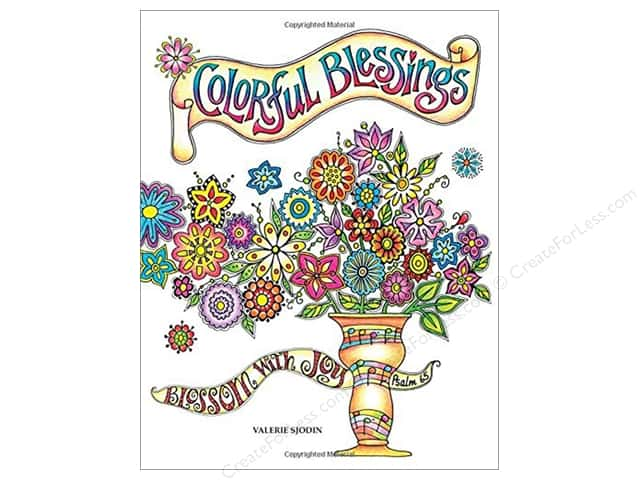 Taunton Press Colorful Blessings Coloring Book