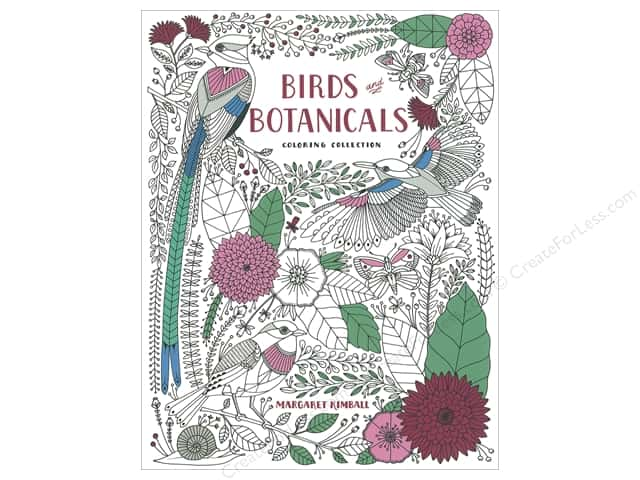 Taunton Press Birds and Botanicals Coloring Book