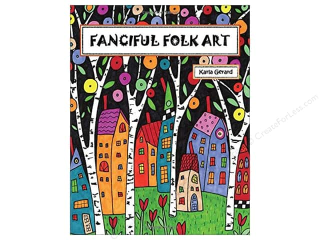Taunton Press Fanciful Folk Art Coloring Book
