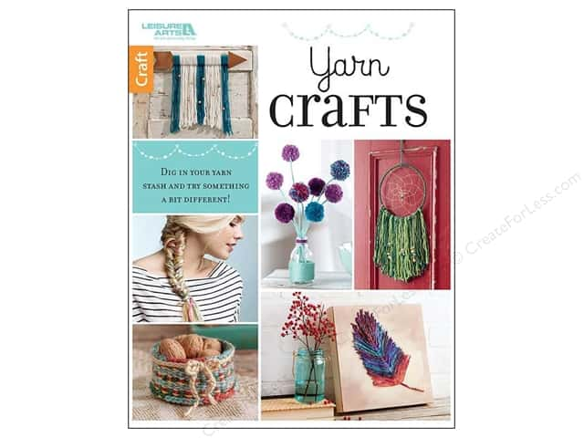 Leisure Arts Yarn Crafts Book