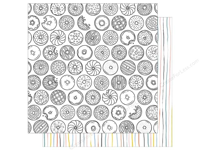 American Crafts 12 x 12 in. Paper Oh Happy Life Midnight Snack