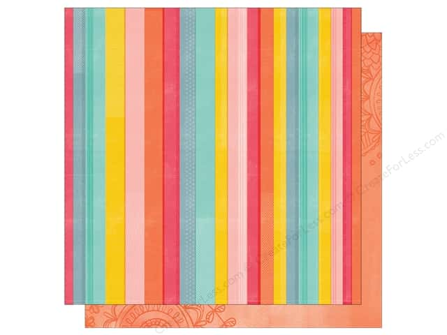American Crafts 12 x 12 in. Paper Oh Happy Life Rise & Shine (25 sheets)