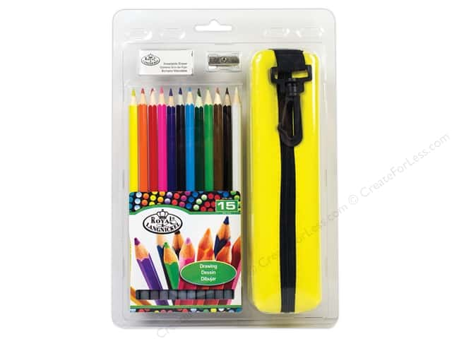 Royal Artist Pack Royal Drawing Pencils With Case