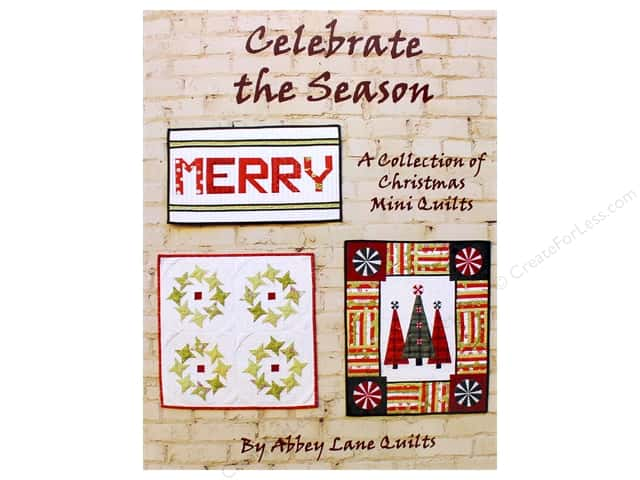 Abbey Lane Quilts Celebrate the Season Christmas Book