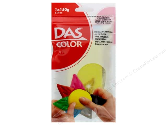 DAS Color Modeling Clay 5.3 oz. Yellow